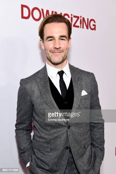 James Van Der Beek attends the premiere of Paramount Pictures' Downsizing at Regency Village Theatre on December 18 2017 in Westwood California