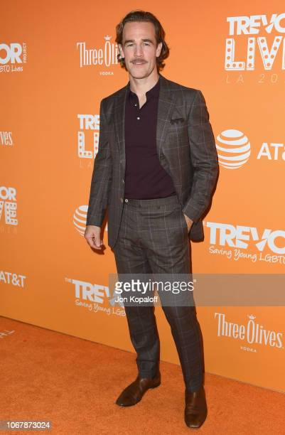 James Van Der Beek attends The Trevor Project's 2018 TrevorLIVE LA Gala at The Beverly Hilton Hotel on December 2 2018 in Beverly Hills California