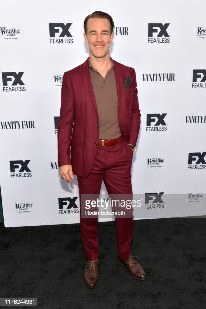 James Van Der Beek attends Vanity Fair and FX's annual Primetime Emmy Nominations Party on September 21, 2019 in Century City, California.