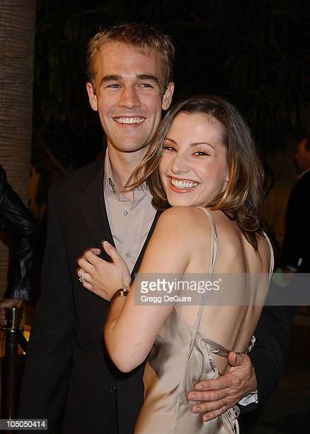James Van Der Beek Heather McComb during The Rules of Attraction Premiere Arrivals at The Egyptian Theatre in Hollywood California United States