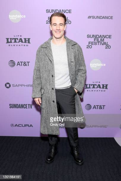 James Van Der Beek of Bad Hair attends the Bad Hair premiere during the 2020 Sundance Film Festival at The Ray on January 23 2020 in Park City Utah