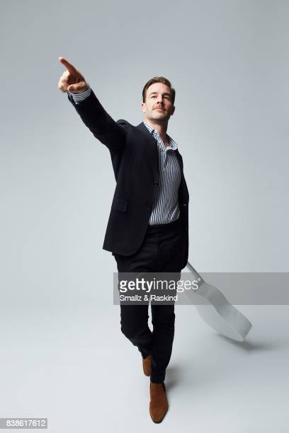 James Van Der Beek of Viceland's 'What Would Diplo Do' poses for a portrait during the 2017 Summer Television Critics Association Press Tour at The...