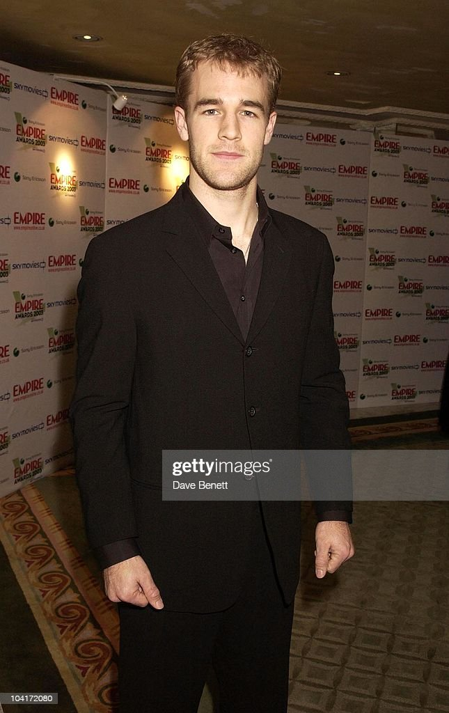 James Van Der Beek, The Empire Movie Awards 2003 Held At The Dorchester Hotel In London