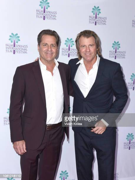 James Van Patten and Vincent Van Patten attend a screening of Walk To Vegas at the 30th Annual Palm Springs International Film Festival on January 11...