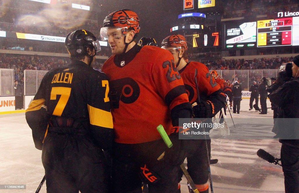9fce1305 2019 Coors Light NHL Stadium Series - Pittsburgh Penguins v Philadelphia  Flyers