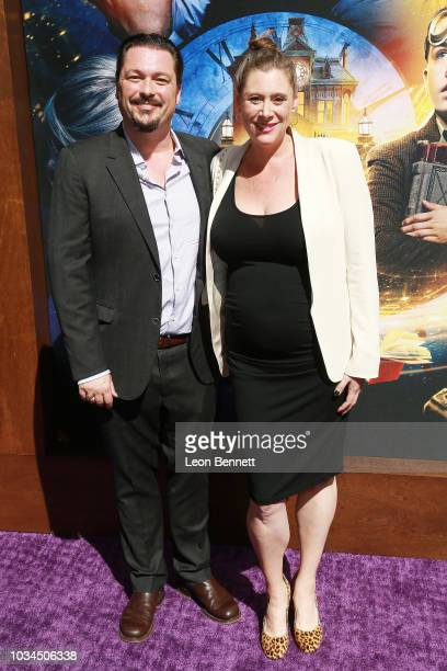 James Vanderbilt and his wife Amber Freeman attend Premiere Of Universal Pictures' 'The House With A Clock In Its Walls' at TCL Chinese Theatre IMAX...