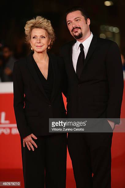 James Vanderbilt and Mary Mapes walk the red carpet for 'Truth' during the 10th Rome Film Fest at Auditorium Parco Della Musica on October 16 2015 in...