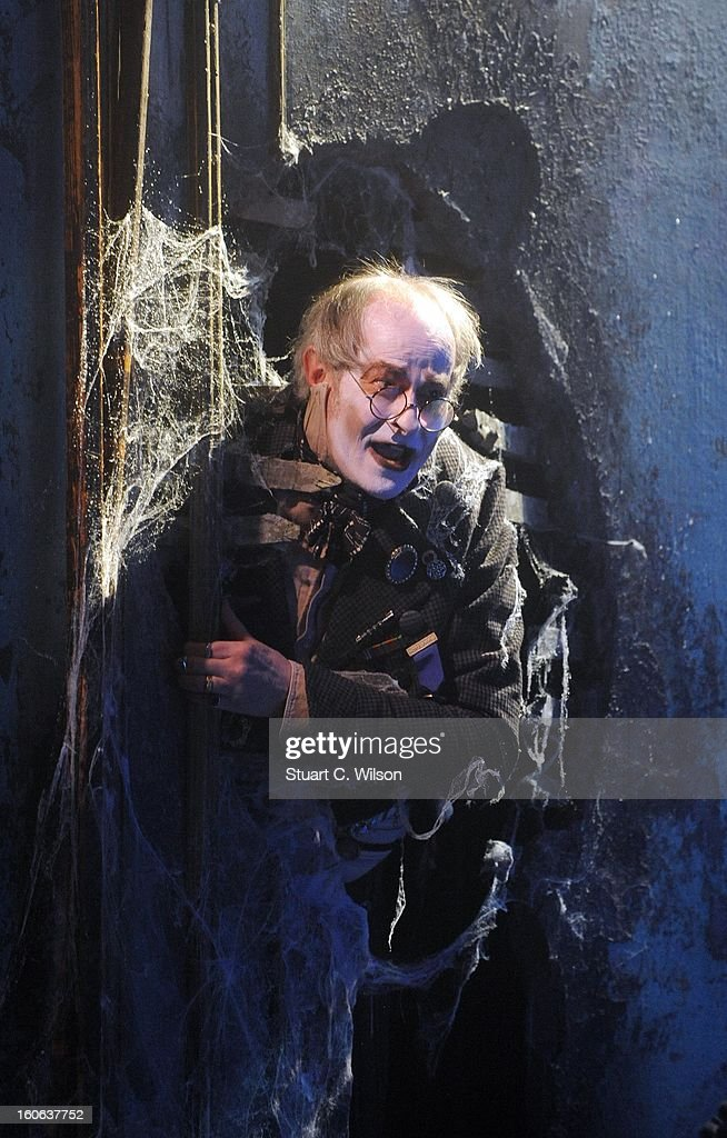 James Vaughan as Wopsle attends a photocall for 'Great Expectations' at Vaudeville Theatre on February 4, 2013 in London, England.