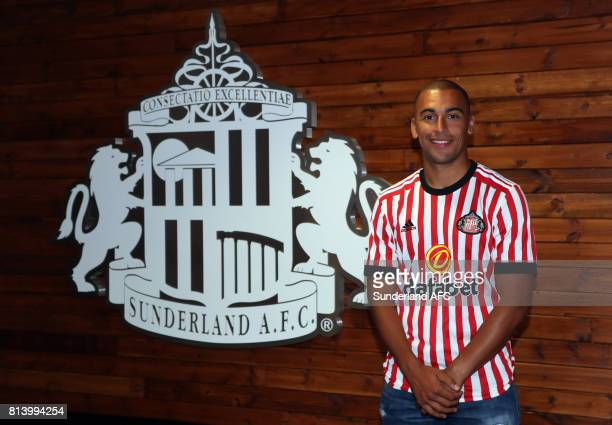James Vaughan poses for the first time at the Academy of Light on July 13 2017 in Sunderland England