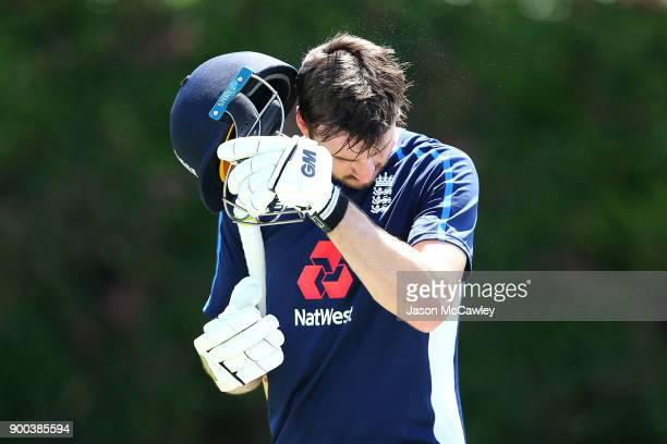 James Vince of England during an England nets session at the Sydney Cricket Ground on January 2 2018 in Sydney Australia