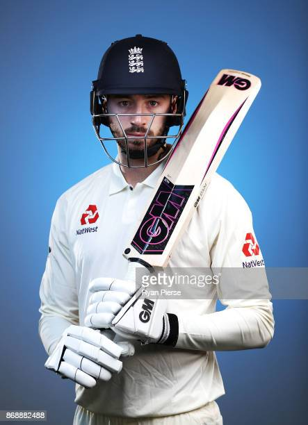 James Vince of England poses during the 2017/18 England Ashes Squad portrait session at the WACA on November 1 2017 in Perth Australia