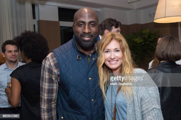 James Vincent and Jessica Davis attend the Alfa Development Launch Celebration on October 12 2017 in New York City
