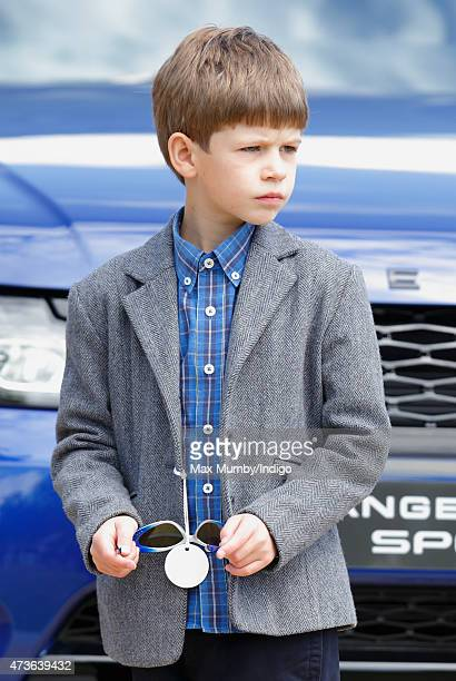 James Viscount Severn attends day 4 of the Royal Windsor Horse Show in Home Park on May 16 2015 in Windsor England