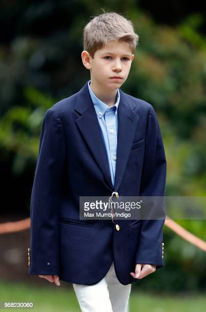 James Viscount Severn attends day 4 of the Royal Windsor Horse Show in Home Park on May 12 2018 in Windsor England This year marks the 75th...