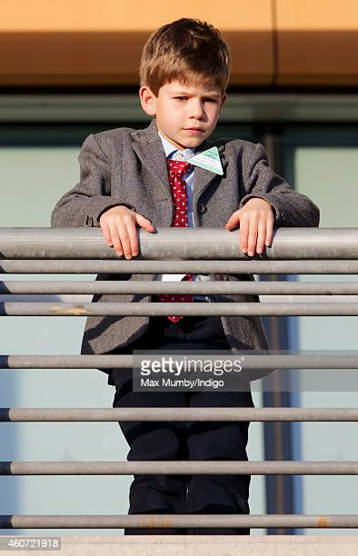 James Viscount Severn attends the Christmas Meeting at Ascot Racecourse on December 20 2014 in Ascot England