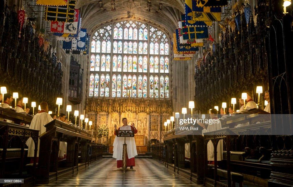 GBR: Prince Harry And Meghan Markle's Royal Wedding Preparations