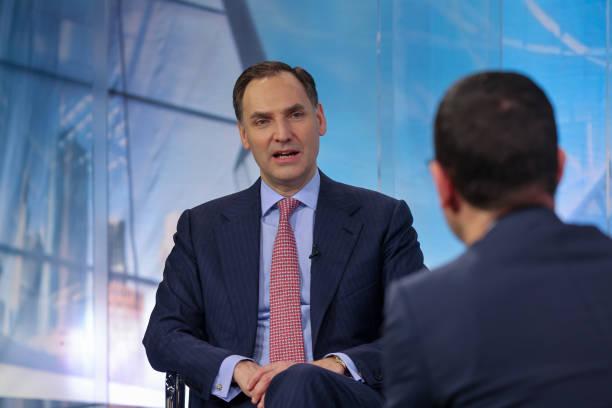 DEU: Deutsche Bank AG Chief Financial Officer James von Moltke Interview
