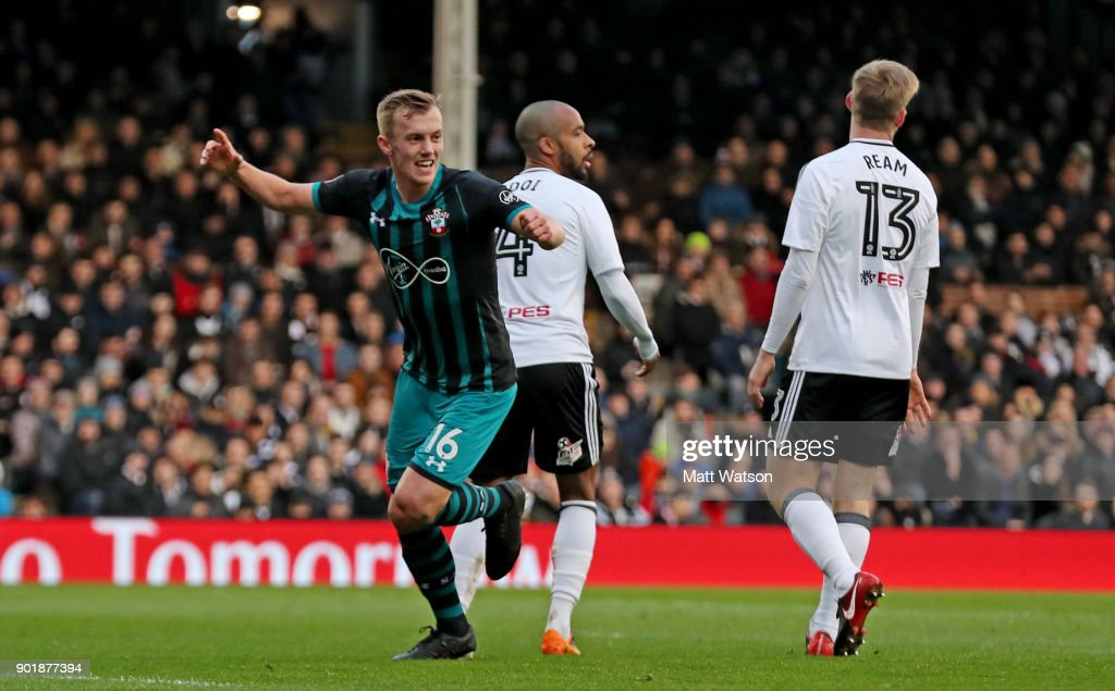 Fulham v Southampton - The Emirates FA Cup Third Round : News Photo