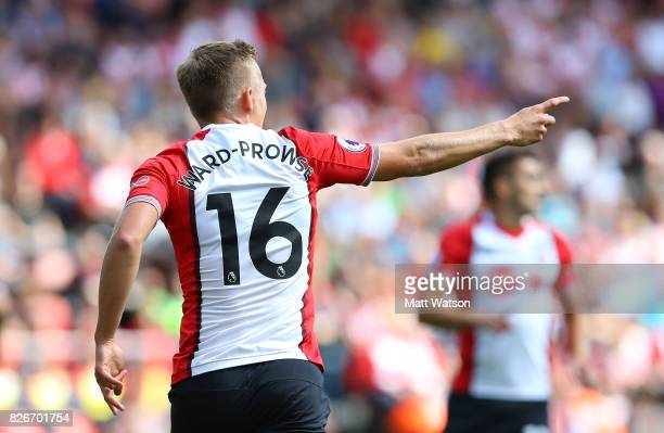 James WardProwse during the preseason friendly between Southampton FC and Sevilla at St Mary's Stadium on August 5 2017 in Southampton England