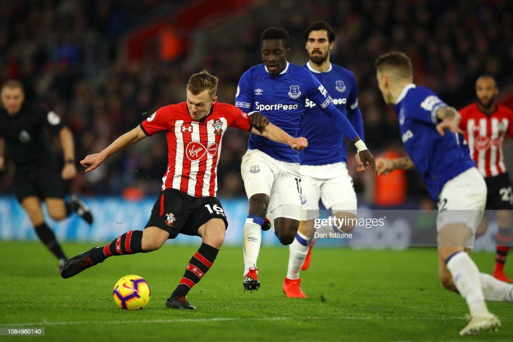 Southampton FC v Everton FC - Premier League : Foto di attualità