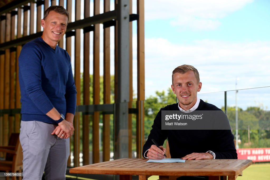 James Ward-Prowse Signs a Contract Extension at Southampton : News Photo