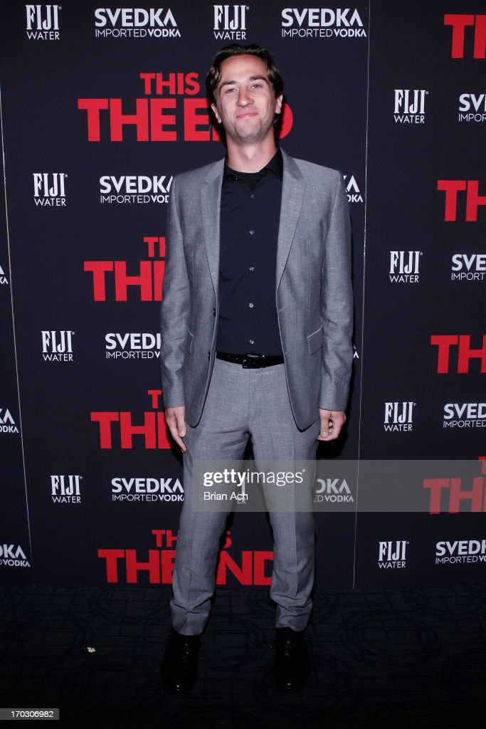 James Weaver attends a special New York screening of Columbia Pictures' 'This Is The End' presented by FIJI water on June 10, 2013 in New York City.