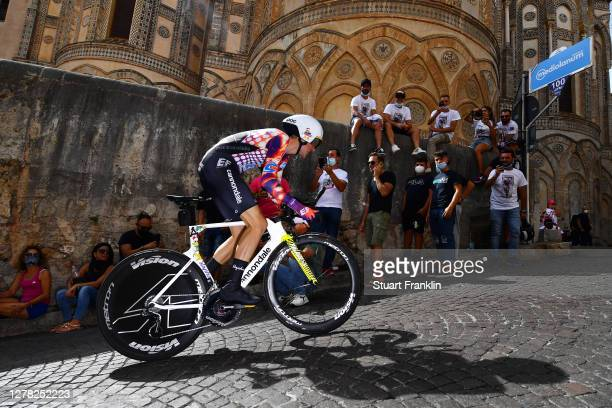 James Whelan of Australia and Team EF Pro Cycling / Duomo di Monreale / Monte Caputo / Cathedral / during the 103rd Giro d'Italia 2020, Stage 1 a...
