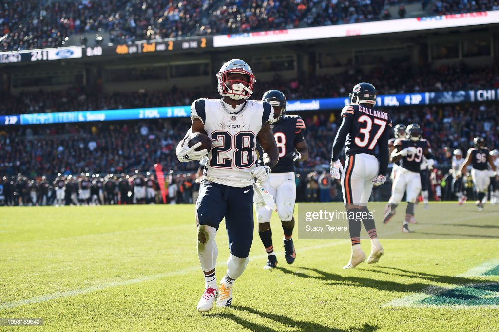New England Patriots v Chicago Bears : News Photo