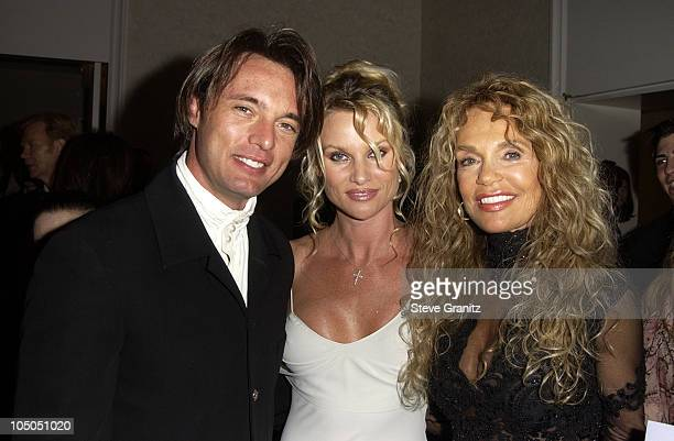James Wilder Nicollette Sheridan and Dyan Cannon during The 15th Carousel Of Hope Ball VIP Reception at Beverly Hilton Hotel in Beverly Hills...
