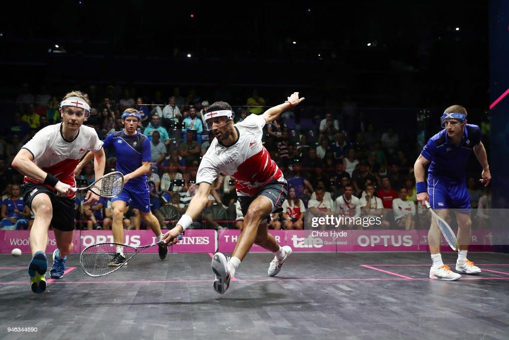 Squash - Commonwealth Games Day 11 : News Photo