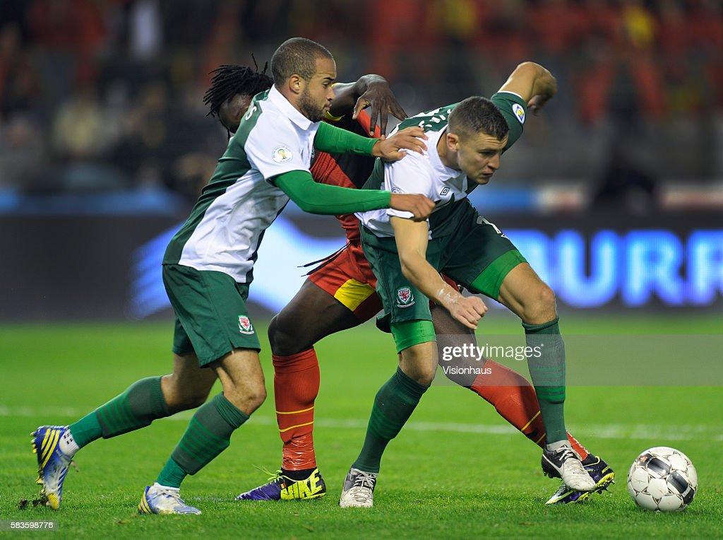 Soccer - FIFA 2014 World Cup Qualifying Group A - Belgium vs Wales : News Photo