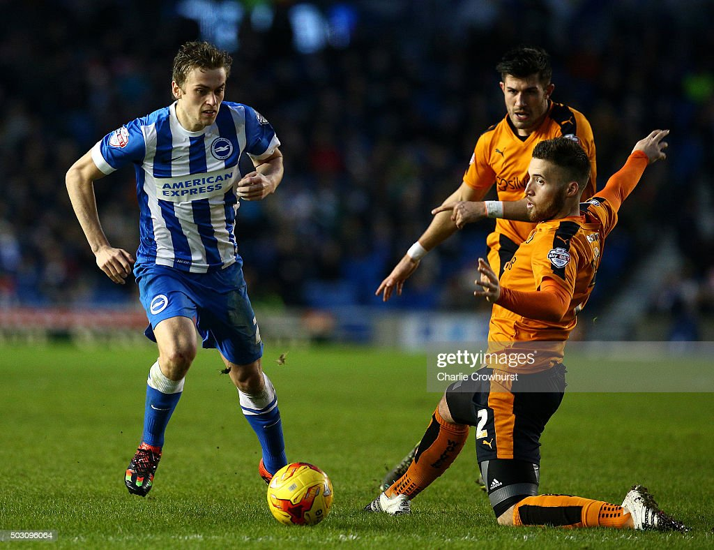 Brighton and Hove Albion v Wolverhampton Wanderers - Sky Bet Championship : News Photo