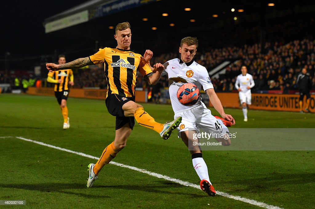 Cambridge United v Manchester United - FA Cup Fourth Round