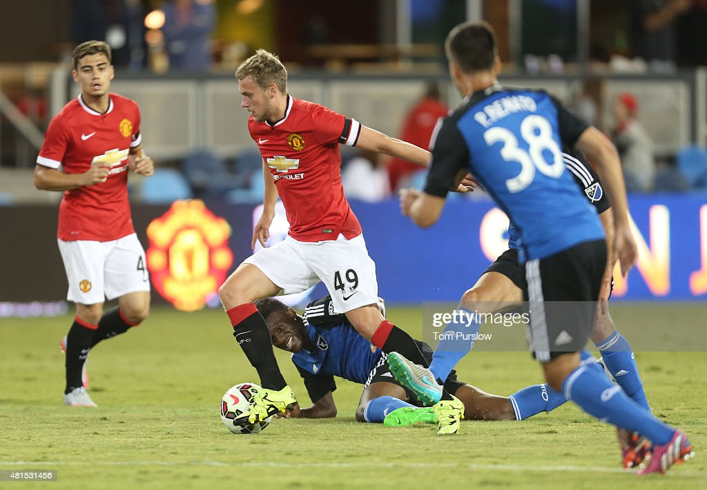 International Champions Cup 2015 - Manchester United v San Jose Earthquakes : News Photo