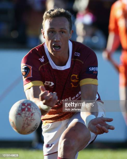 James Wilson of Southland during the round one Mitre 10 Cup match between Southland and Hawke's Bay at Rugby Park Stadium on August 19 2018 in...