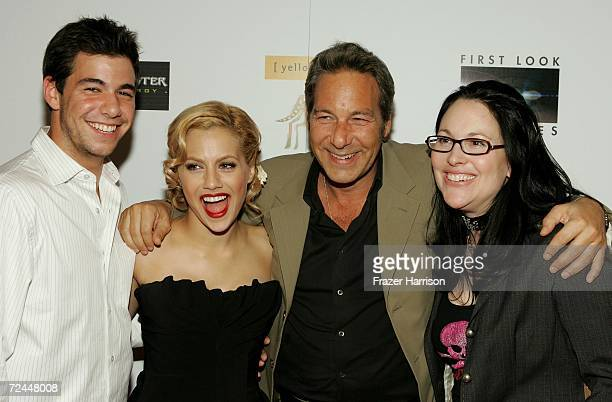 James Winterstern, actress Brittany Murphy, producer Henry Winterstern and writer/director Karen Moncrieff arrive at the Premiere Lounge after party...