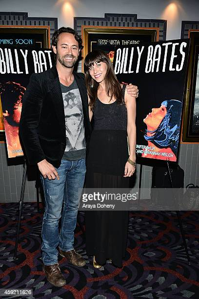 James Wirt and Savannah Welch attend the BILLY BATES LA Premiere Directed By Jennifer DeLia Starring James Wirt And Savannah Welchl Produced By Julie...
