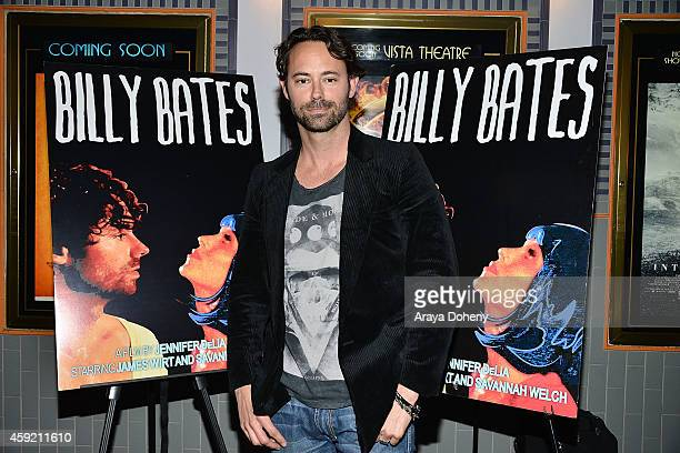 James Wirt attends the BILLY BATES LA Premiere Directed By Jennifer DeLia Starring James Wirt And Savannah Welchl Produced By Julie Pacino at Los...