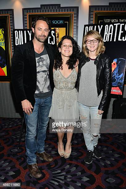 James Wirt Jennifer DeLia and Ryan Simpkins attend the BILLY BATES LA Premiere Directed By Jennifer DeLia Starring James Wirt And Savannah Welchl...