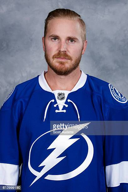 James Wisniewksi of the Tampa Bay Lightning poses for his official headshot for the 20162017 season on September 22 2016 at Amalie Arena in Tampa...