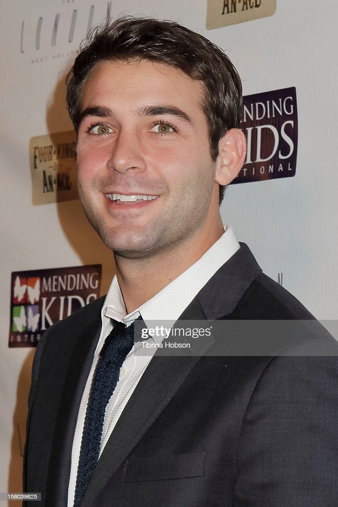 James Wolk attends the Mending Kids International celebrity poker tournament at The London Hotel on December 1, 2012 in West Hollywood, California.