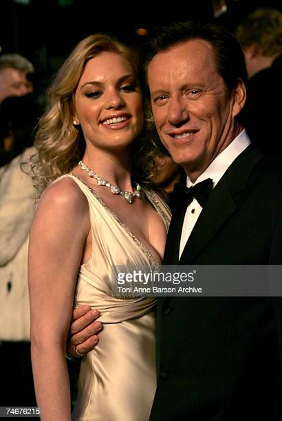 James Woods and Ashley Madison at the Mortons in West Hollywood California