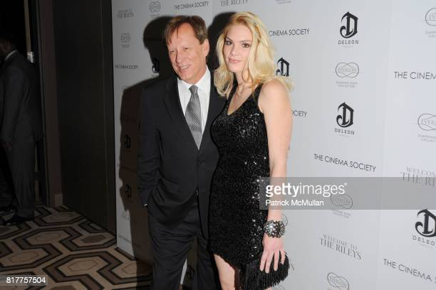 James Woods and Ashley Madison attend THE CINEMA SOCIETY EVERLON DIAMOND KNOT COLLECTION host a screening of WELCOME TO THE RILEYS at Tribeca Grand...