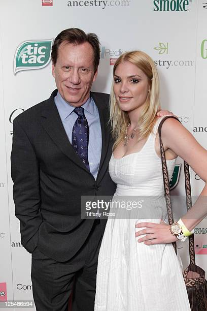 James Woods and Ashley Madison attend the GBK And Tic Tac Gift Lounge In Honor Of The 2011 Emmy Nominees And Presenters Day 2 at W Hollywood on...