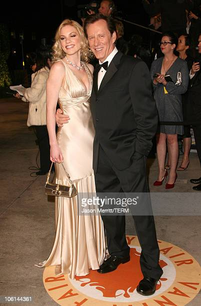 James Woods and Ashley Madison during 2007 Vanity Fair Oscar Party Hosted by Graydon Carter at Mortons in West Hollywood California United States