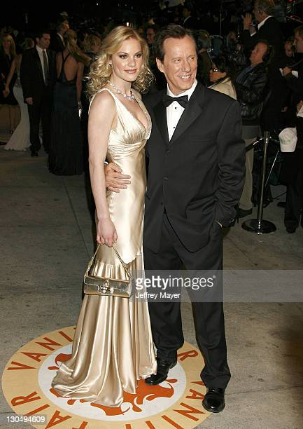 James Woods and Ashley Madison during 2007 Vanity Fair Oscar Party Hosted by Graydon Carter Arrivals at Mortons in West Hollywood California United...
