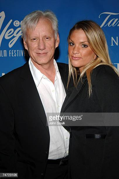 James Woods and Ashley Myrick at the Whiskey Beach at Green Valley Ranch in Las Vegas Nevada