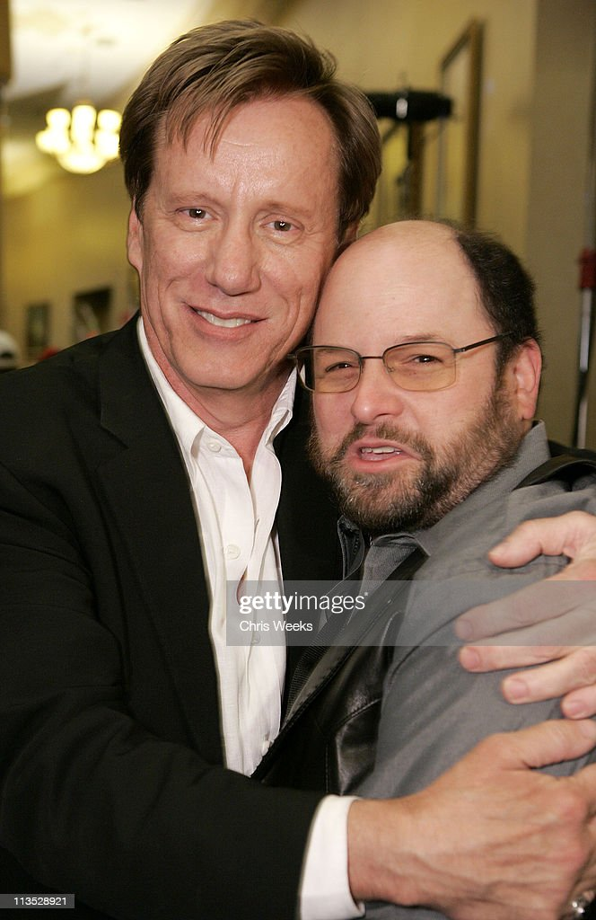 James Woods and Jason Alexander during World Poker Tour Invitational at Commerce Casino in Commerce, California, United States.