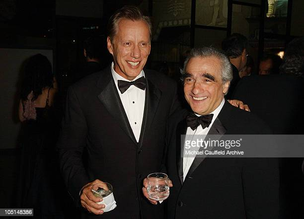 James Woods and Martin Scorsese during 31st AFI Life Achievement Award Presented to Robert De Niro After Party in Hollywood California United States