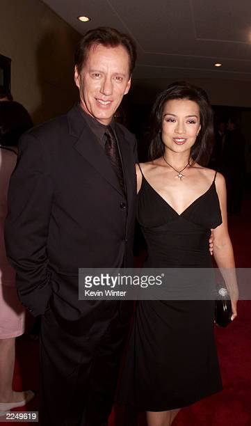 James Woods and Ming Na at the premiere of 'Final Fantasy: The Spirits Within' at the Bruin Theater in Los Angeles, Ca. 7/2/01. Photo by Kevin...